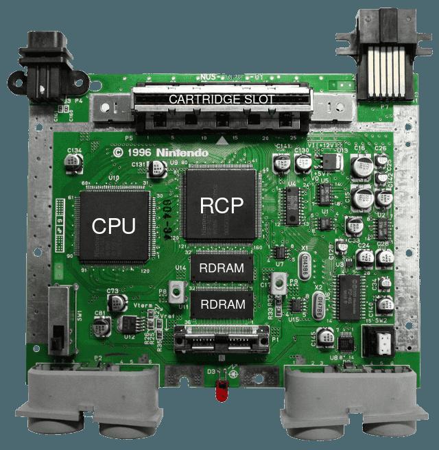 Nintendo 64 Motherboard